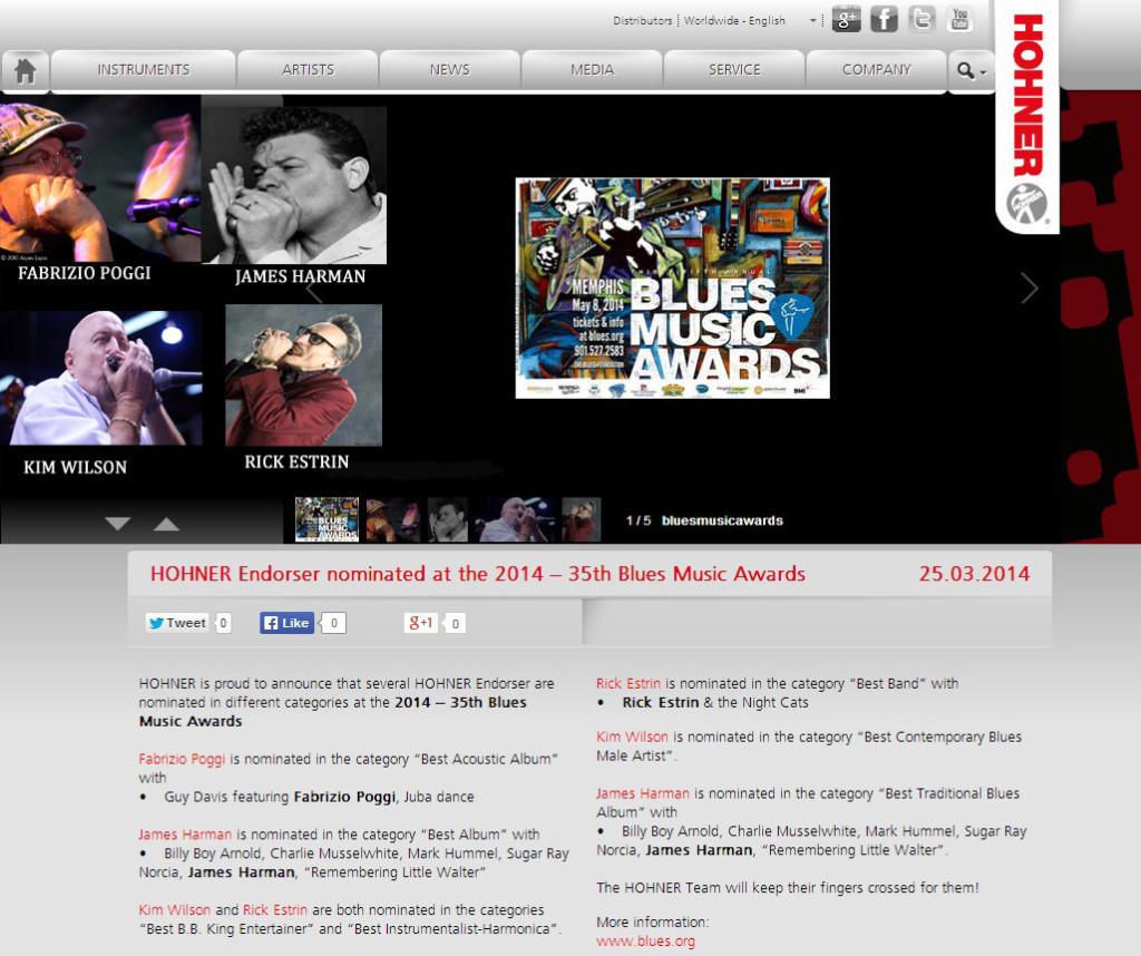 sito hohner Blues Music Awards copia