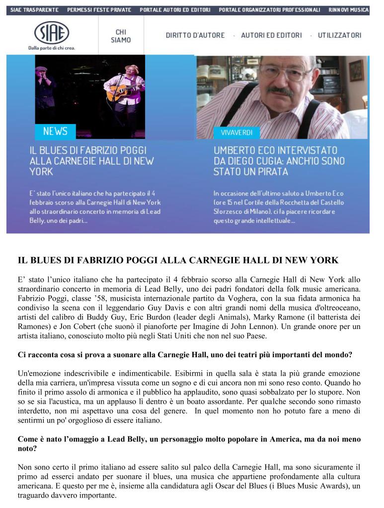 IL BLUES DI FABRIZIO POGGI ALLA CARNEGIE HALL DI NEW YORK (1)1 copia