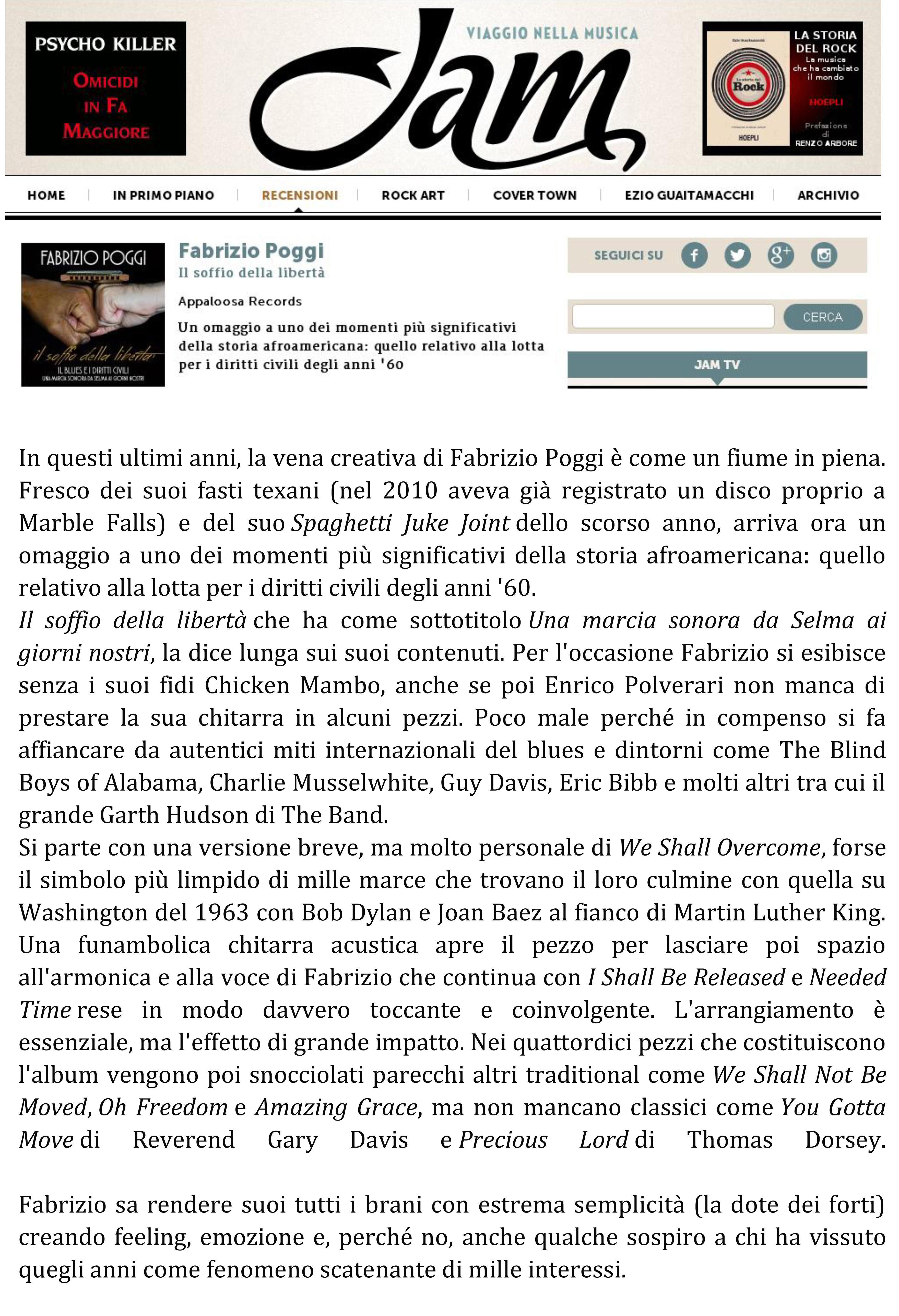 recensione Il soffio della liberta' su JAMONLINE sito (1) copia