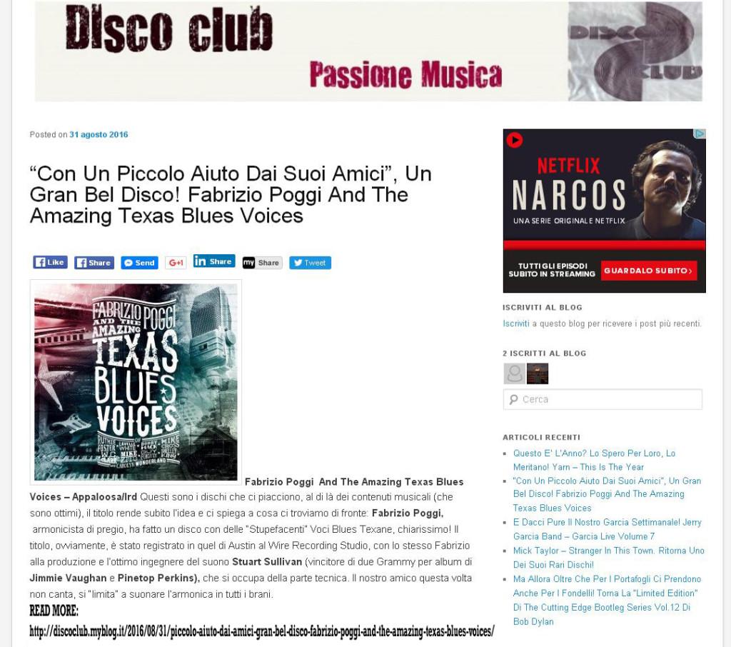 disco-club-passione-musica-tbv-recensione